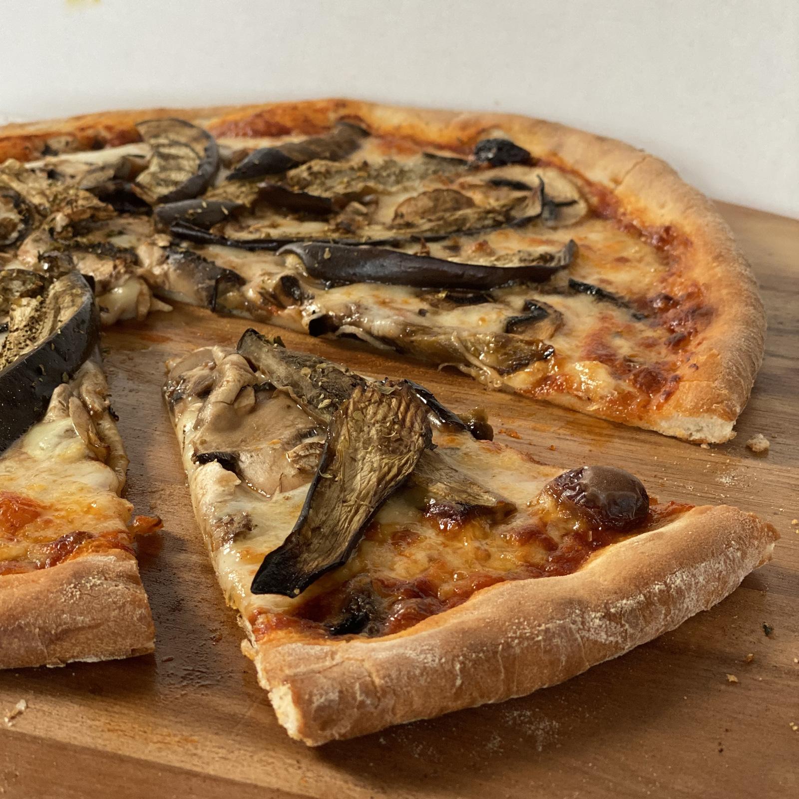 Pizza Melanzana Casa Nostra Grasse