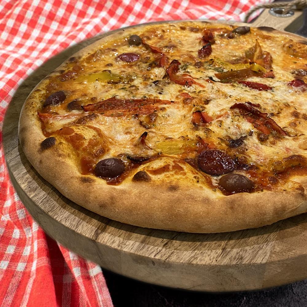 Pizza Chorizo à Grasse