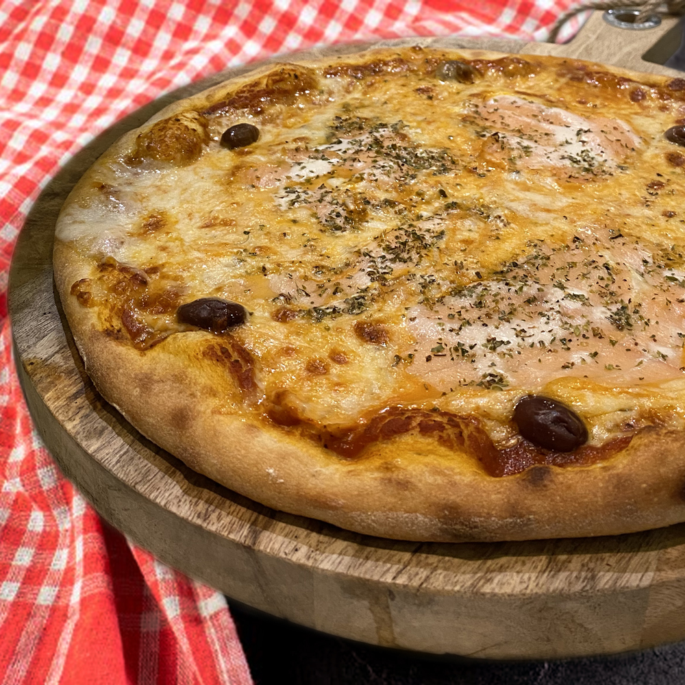 Pizza Saumon Grasse Casa Nostra