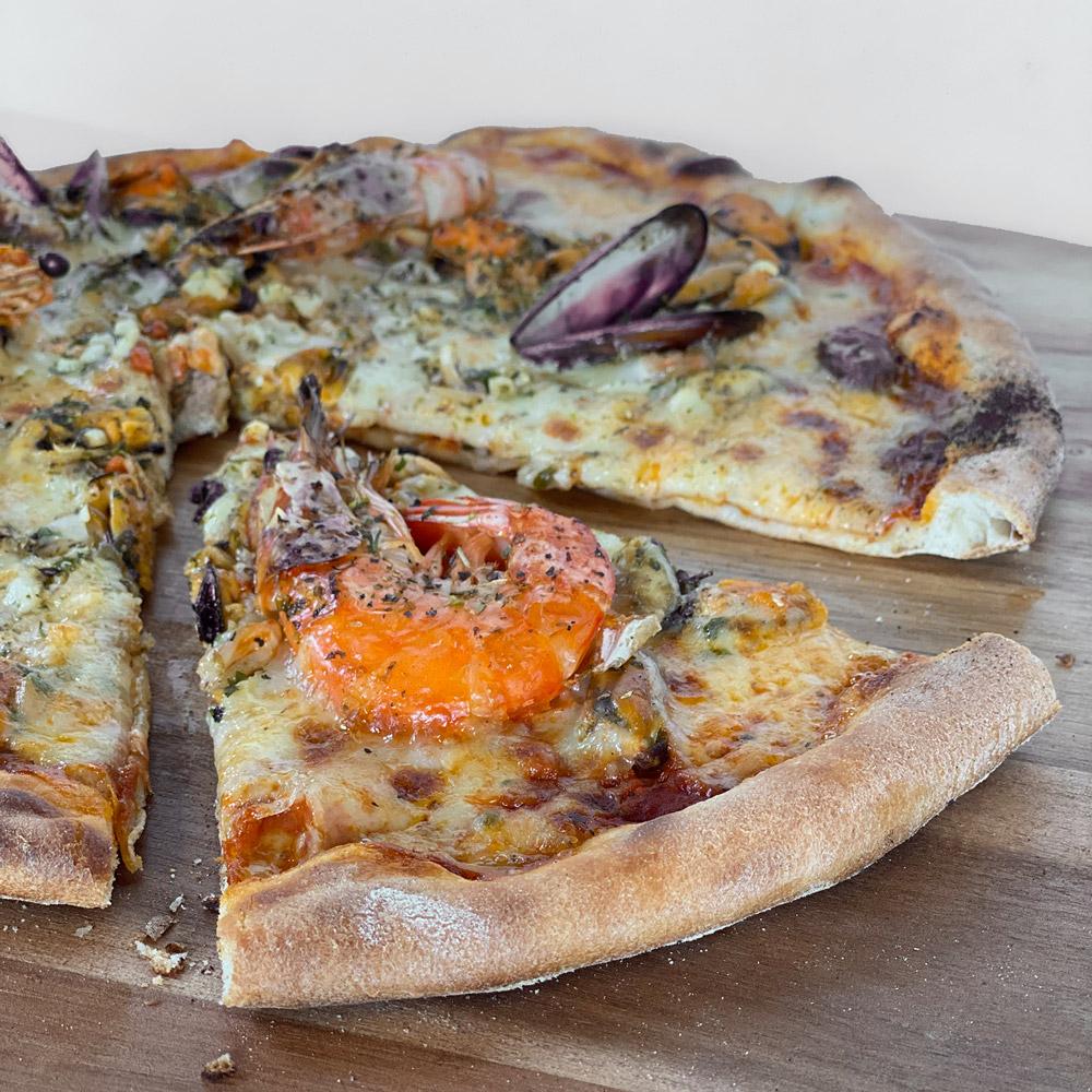 Pizza Fruits de mer Casa Nostra Grasse
