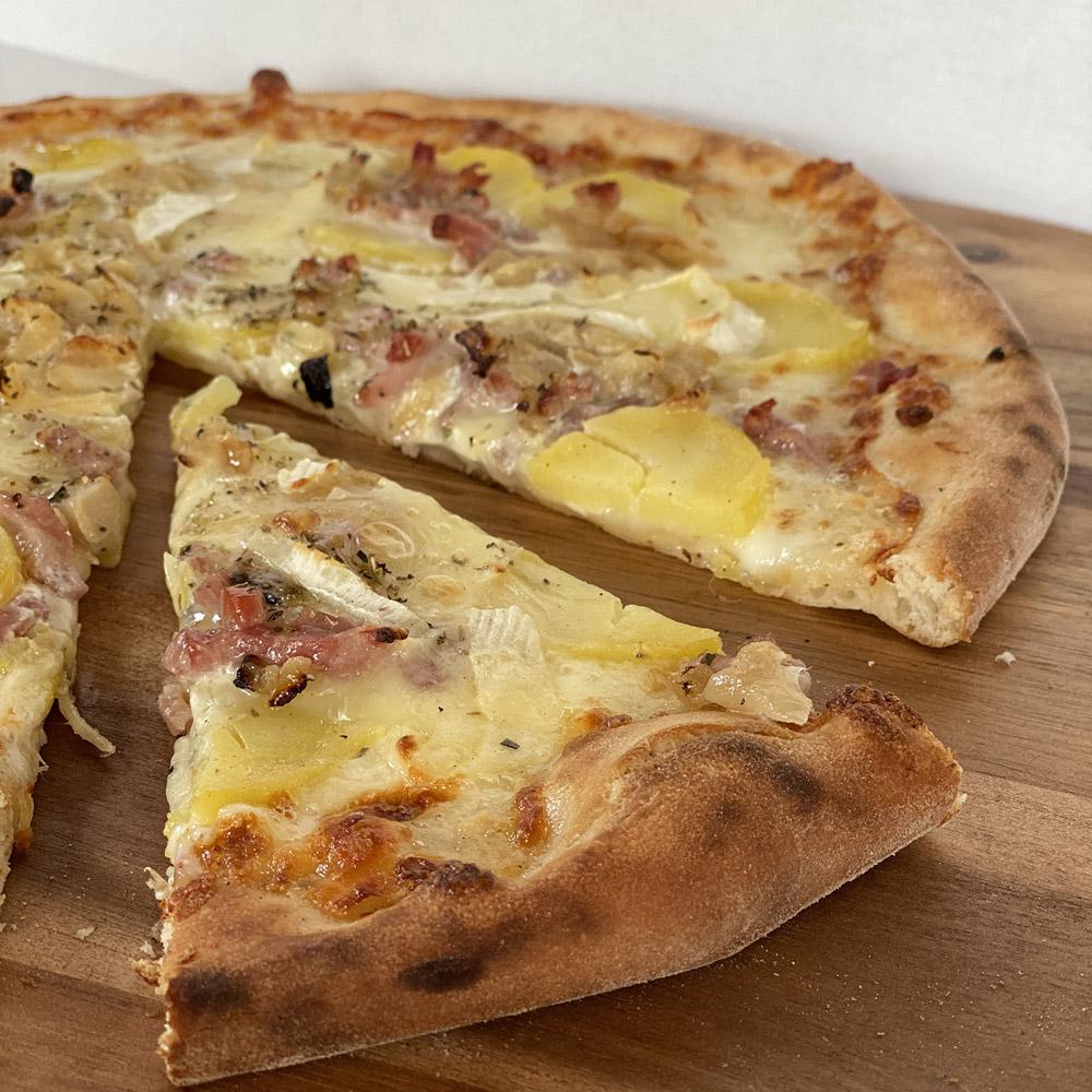 Pizza savoyarde Casa Nostra Grasse