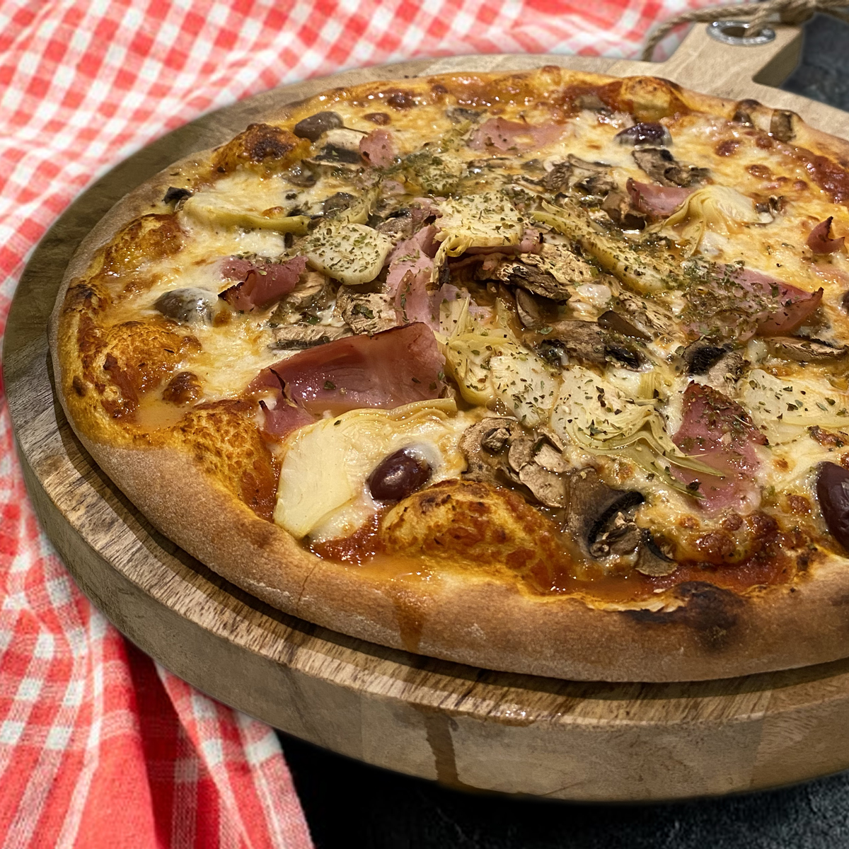 Pizza 4 saisons Casa Nostra Grasse